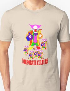 CORPORATE CULTURE CLOWNTOWN 101 Unisex T-Shirt