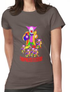 CORPORATE CULTURE CLOWNTOWN 101 Womens Fitted T-Shirt