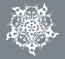 Wolf ZOOFLAKE by PepomintNarwhal