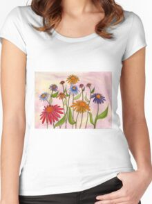Daisy Bouquet Women's Fitted Scoop T-Shirt