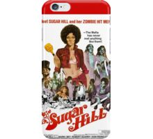 Sugar Hill (Red) iPhone Case/Skin