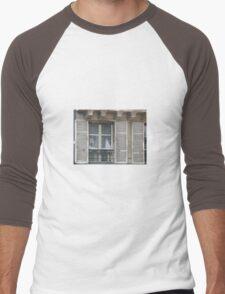 OLD WOODEN SHUTTERS Men's Baseball ¾ T-Shirt