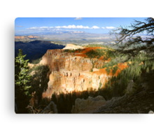 Late Afternoon Light, Aqua Canyon  Canvas Print
