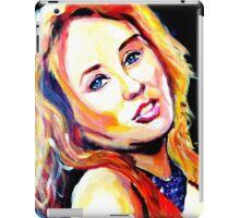 Tori singing iPad Case/Skin