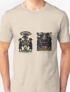 A Complete Guide to Heraldry - Plate IV - Arms of Swinton of That Ilk - Arms of Speke of Jordans Unisex T-Shirt