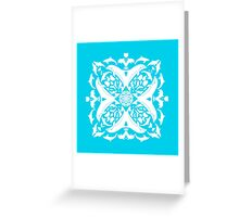 Dolphin ZOOFLAKE Greeting Card