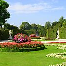 Garden in Schonbrunn by Laura60