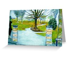Grenville Approach Greeting Card