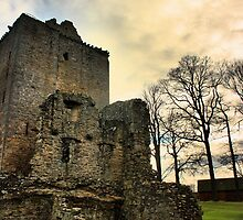 Spynie Palace by Rob Outram