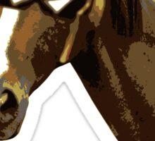 Captain Falcon Horse Sticker