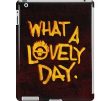 What a Lovely Day. iPad Case/Skin