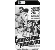 Confessions of a Psycho Cat iPhone Case/Skin