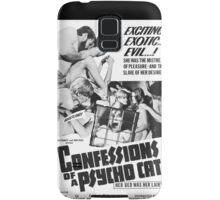 Confessions of a Psycho Cat Samsung Galaxy Case/Skin