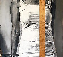 Still Remainder  2011  charcoal and pastels on found wood   by Patrick O'Rourke