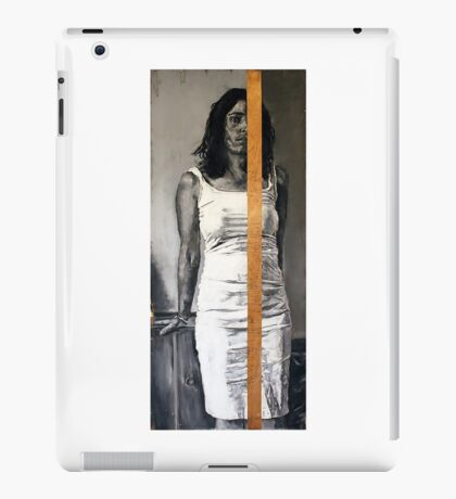 Still Remainder  2011  charcoal and pastels on found wood   iPad Case/Skin
