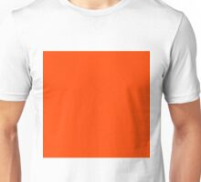 Beautiful Cushions/ Plain Orange Red 400 colours cheap Unisex T-Shirt