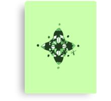 Compass (Green) Canvas Print