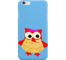 Owl Girl With Bow iPhone Case/Skin