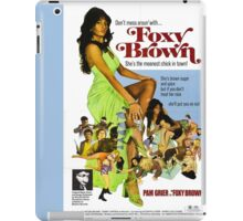 Foxy Brown (Blue) iPad Case/Skin
