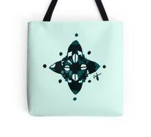 Compass (Blue) Tote Bag