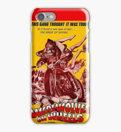 Werewolves on Wheels iPhone Case/Skin