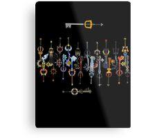 Kingdom heart 2 Keyblade Metal Print