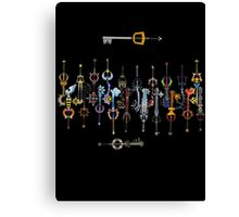 Kingdom heart 2 Keyblade Canvas Print