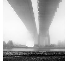 fog and skyway Photographic Print