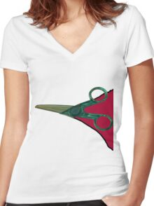 The Cut  Women's Fitted V-Neck T-Shirt