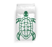 Turtle Design Illustration Duvet Cover