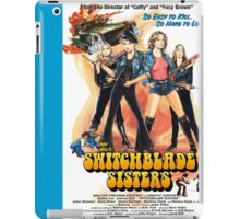 Switchblade Sisters Alt 1 (Blue) iPad Case/Skin