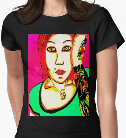 Cindy Frey 2 Womens Fitted T-Shirt