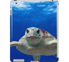 Beautiful Ocean Turtle, HD Photograph iPad Case/Skin