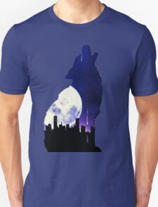 Midnight Wolf Unisex T-Shirt