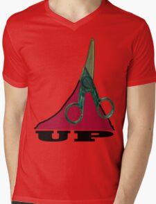 cut up  Mens V-Neck T-Shirt