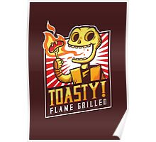 Toasty Grill Poster