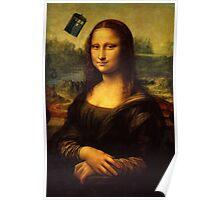 Mona Lisa Tardis Poster