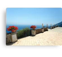 Terrace of Infinity Canvas Print
