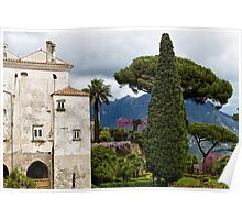 Amalfi Coast Villa Poster