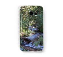 calvin and hobbes forest Samsung Galaxy Case/Skin