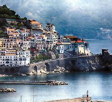 Amalfi from Above by George Oze