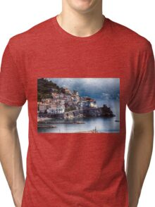 Amalfi from Above Tri-blend T-Shirt