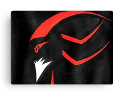 Shadow the Hedgehog - Abstract Canvas Print