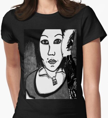 Cindy Frey 6 Womens Fitted T-Shirt