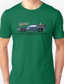 Delorean Tardis Unisex T-Shirt