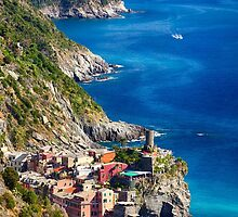 Vernazza of Cinque Terre by George Oze