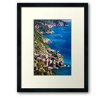 Vernazza of Cinque Terre Framed Print
