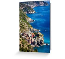 Vernazza of Cinque Terre Greeting Card