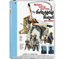 Switchblade Sisters Alt 2 (Blue) iPad Case/Skin