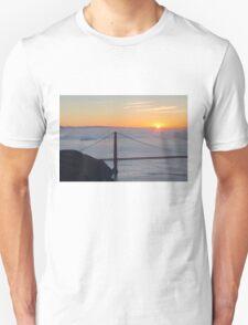 Golden Gate Sunrise Unisex T-Shirt